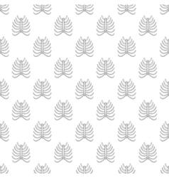 Ribs seamless pattern vector