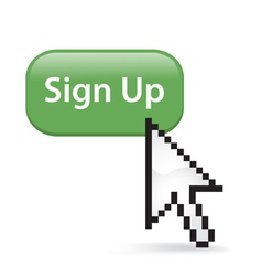 Sign Up Button Click vector