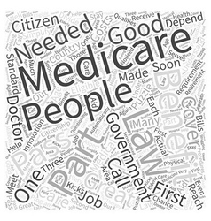 That Puzzle They Call Medicare Law Word Cloud vector
