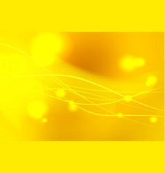 yellow shades abstract background with light vector image