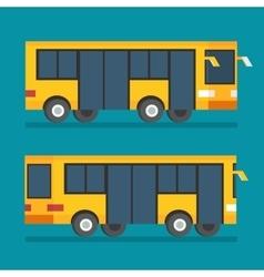 Public transport bus Transportation icon Flat vector image vector image