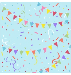 Party festive background vector image vector image