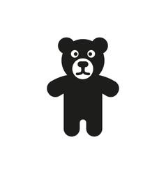 Bear icon design toy symbol web graphic ai vector