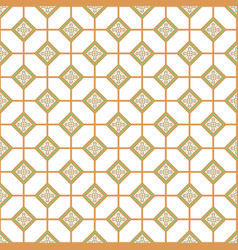 geometric azulejos portugal tile seamless pattern vector image