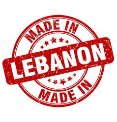 Made in lebanon vector