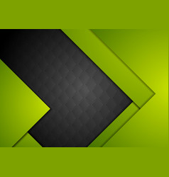 green black material abstract background vector image