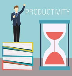 Productivity vector image
