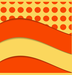 Abstract wave set on transparent background eps10 vector