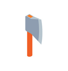 Axe icon isolated on white background vector