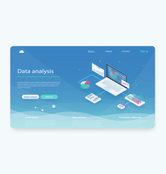 data analysis information searching vector image
