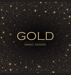 Gold elegant glitter abstract background soft vector