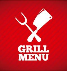 Grill design vector