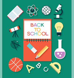 infographic design of education vector image