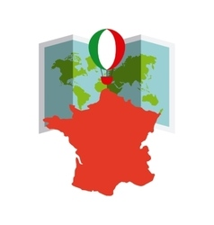italy country design vector image
