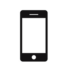 phone icon smartphonemobile phone symbol vector image