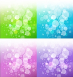Set of bath backgrounds vector