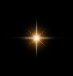 Star burst2 vector image