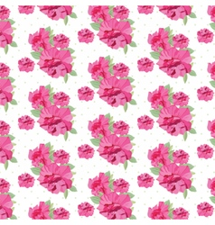 Vintage Spring Summer delicate peony Flowers vector image vector image