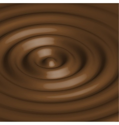Abstract background with chocolate circles vector