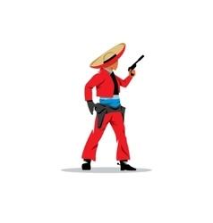 Bandit mexican vector