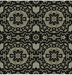 seamless lace vector image vector image