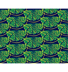 Blue lemon pattern vector image