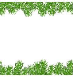 seamless horizontal borders vector image