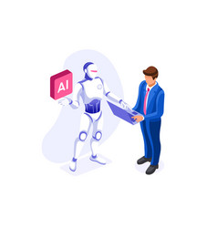 Chatbot icon vector