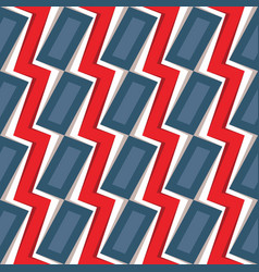 lightning zigzag background design abstract vector image