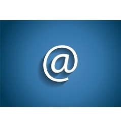Mail Glossy Icon vector