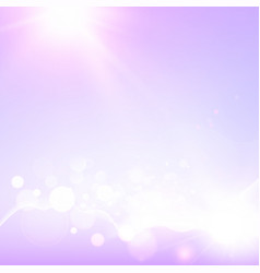 Puple and white soft lights abstract background vector