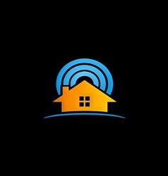 House radar security logo vector