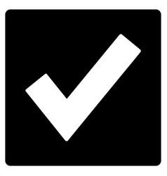 valid flat icon vector image