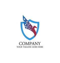 american eagle logo vector image
