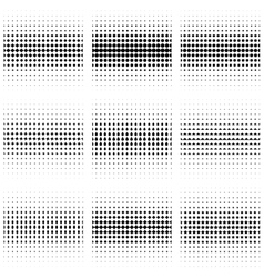 Black and white seamless pattern set vector
