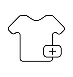 buy a t shirts icon vector image