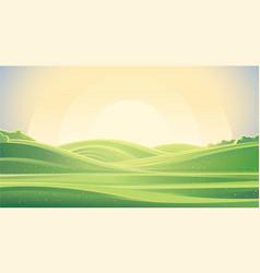 Farming landscape vector