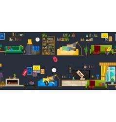 Furniture Shop Super Sale vector image