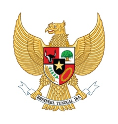 Garuda indonesia indonesia national emblem vector
