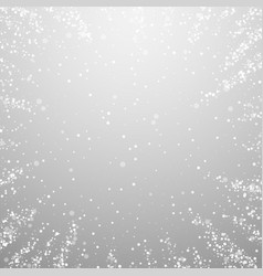 Magic stars christmas background subtle flying sn vector