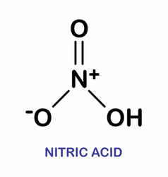 Nitric acid molecule vector