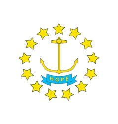 Rhode Island vector