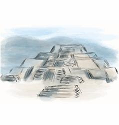 Teotihuacan vector