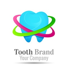 Tooth dental logo design Template for your vector