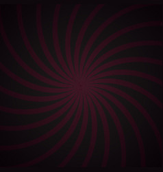 Pink and black spiral vintage vector
