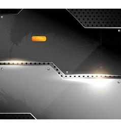 Metal Design vector image