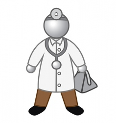 doctor glossy vector image vector image