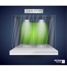 showroom product vector image