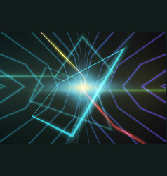 abstract background made in 80s style vector image