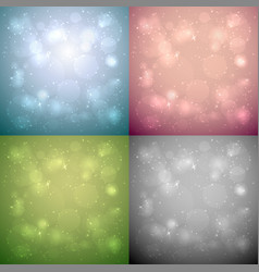abstract bokeh backgrounds with copy space vector image